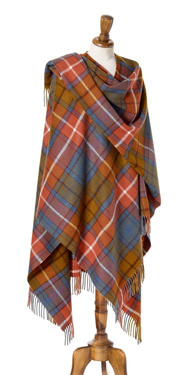 Wool Blanket Online British Made Gifts Lambswool Ruana